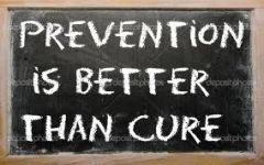 Prevention is Always the Best Medicine